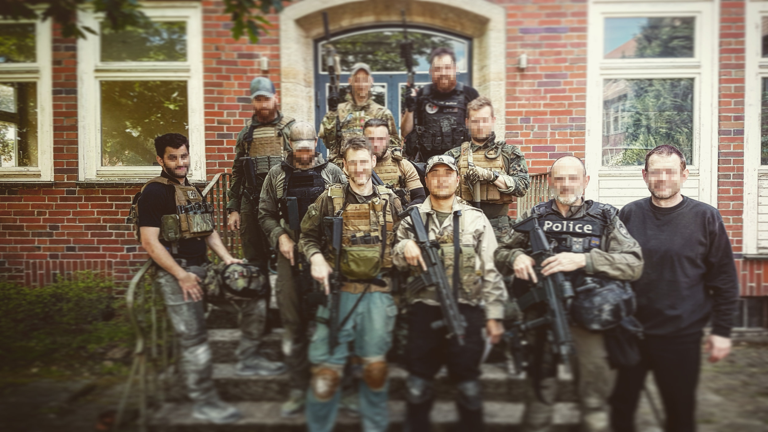 Picture from the previous CQB course.