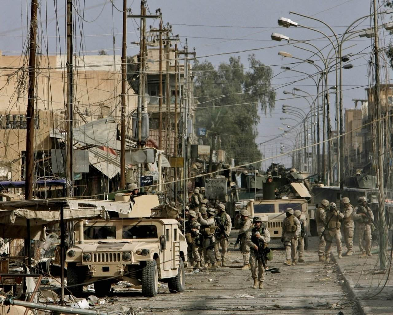 Fallujah 2004 - Operation Phantom Fury, another perception shift in relations to the deployment of small units in MOUT settings in a non conventional warfare
