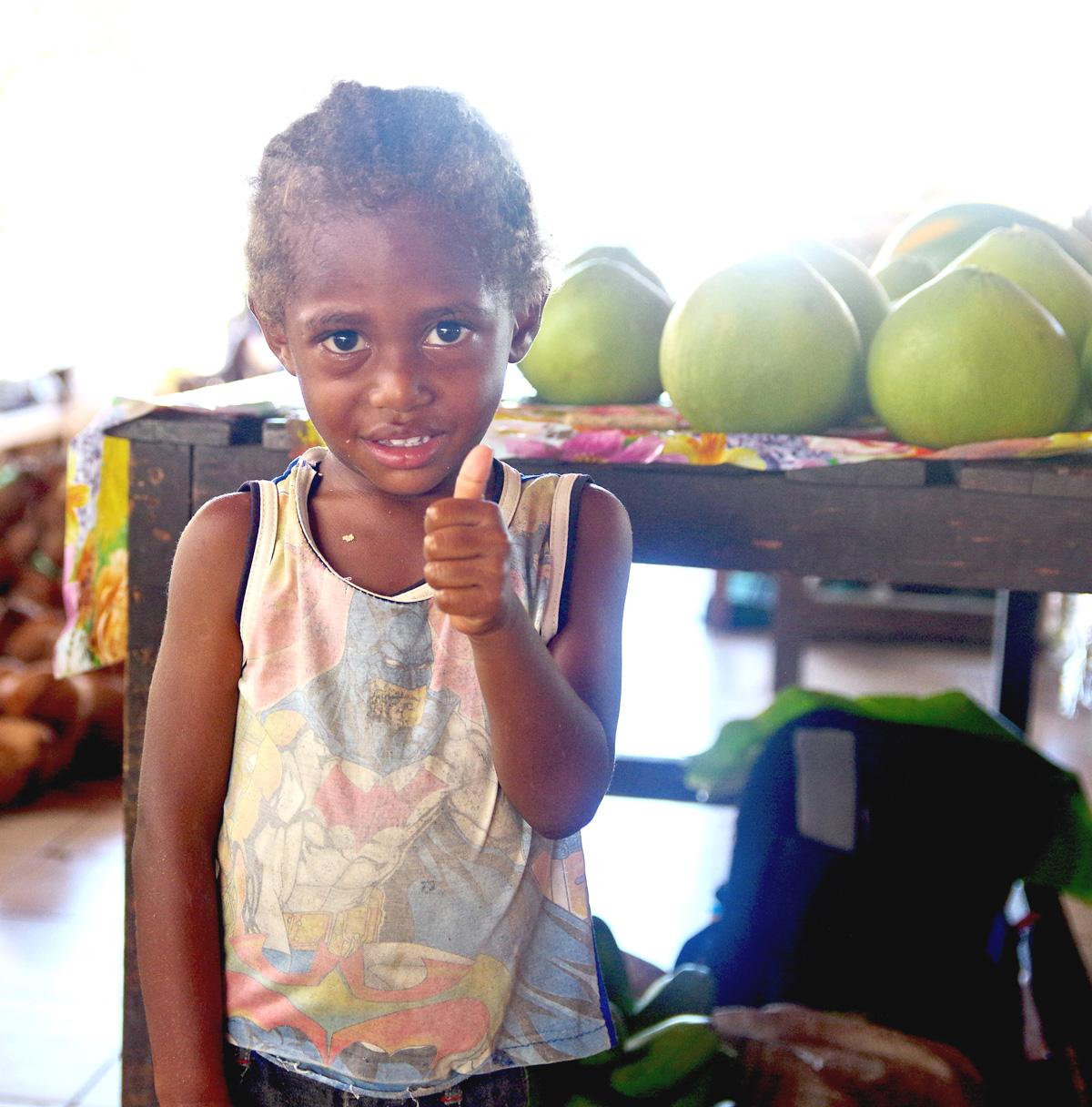 Melanesian Girl