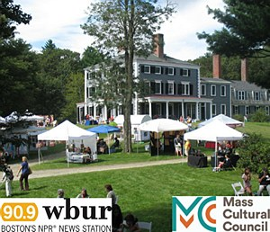 """This annual event features the work of more than 100 artisans, including wooden furniture and toys, pottery, photography, jewelry, glass, knitted sweaters and throws, children's clothing, metalware, and folk carvings. Visitors can enjoy live music and children's entertainment as well as children's activities, a food court, and tours of the Codman Estate.  Once called """"the handsomest place in America,"""" this country estate was fashioned in the English manner and home to five generations of the Codman family. The grounds feature a hidden turn-of-the-century Italian garden with perennial beds, statuary, and a reflecting pool filled with water lilies, as well as a 1930s English cottage garden.  Free admission to Historic New England members and children under 12, $5 nonmembers."""