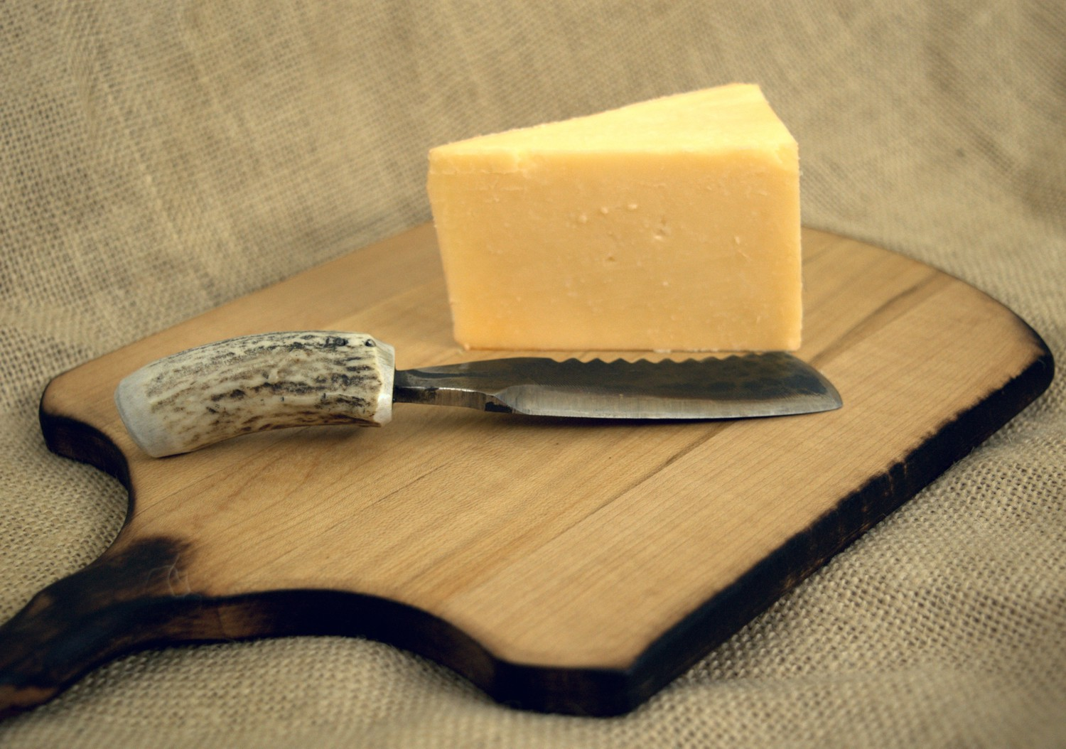many of our knives make a nice touch to a cheese board