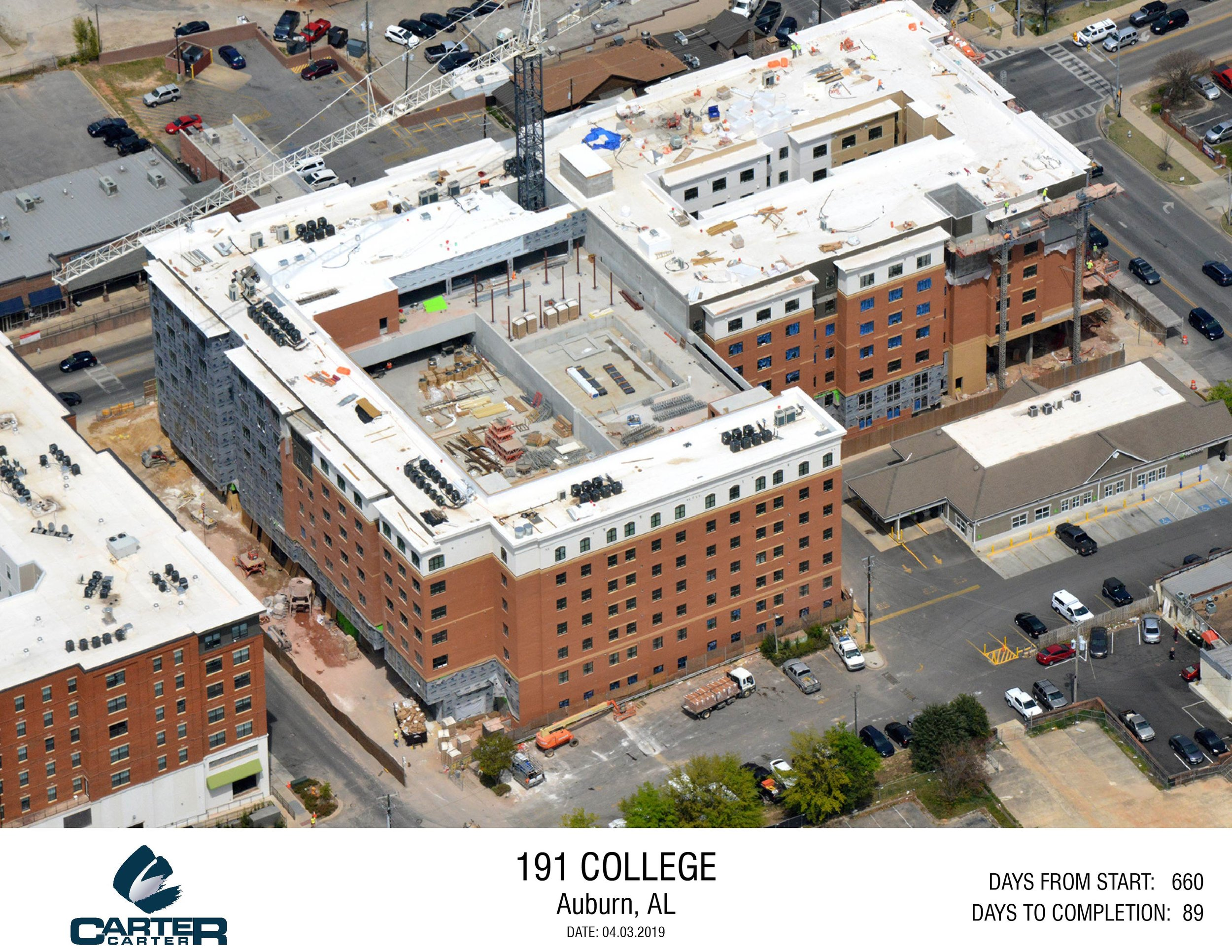 191 COLLEGE (IN PROGRESS) — Carter & Carter Construction