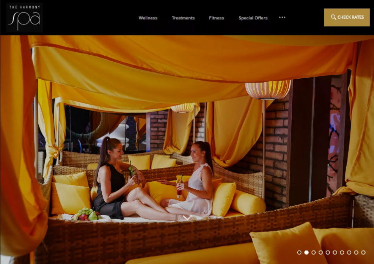 The Harmony Spa showcases a relaxing weekend for adults.