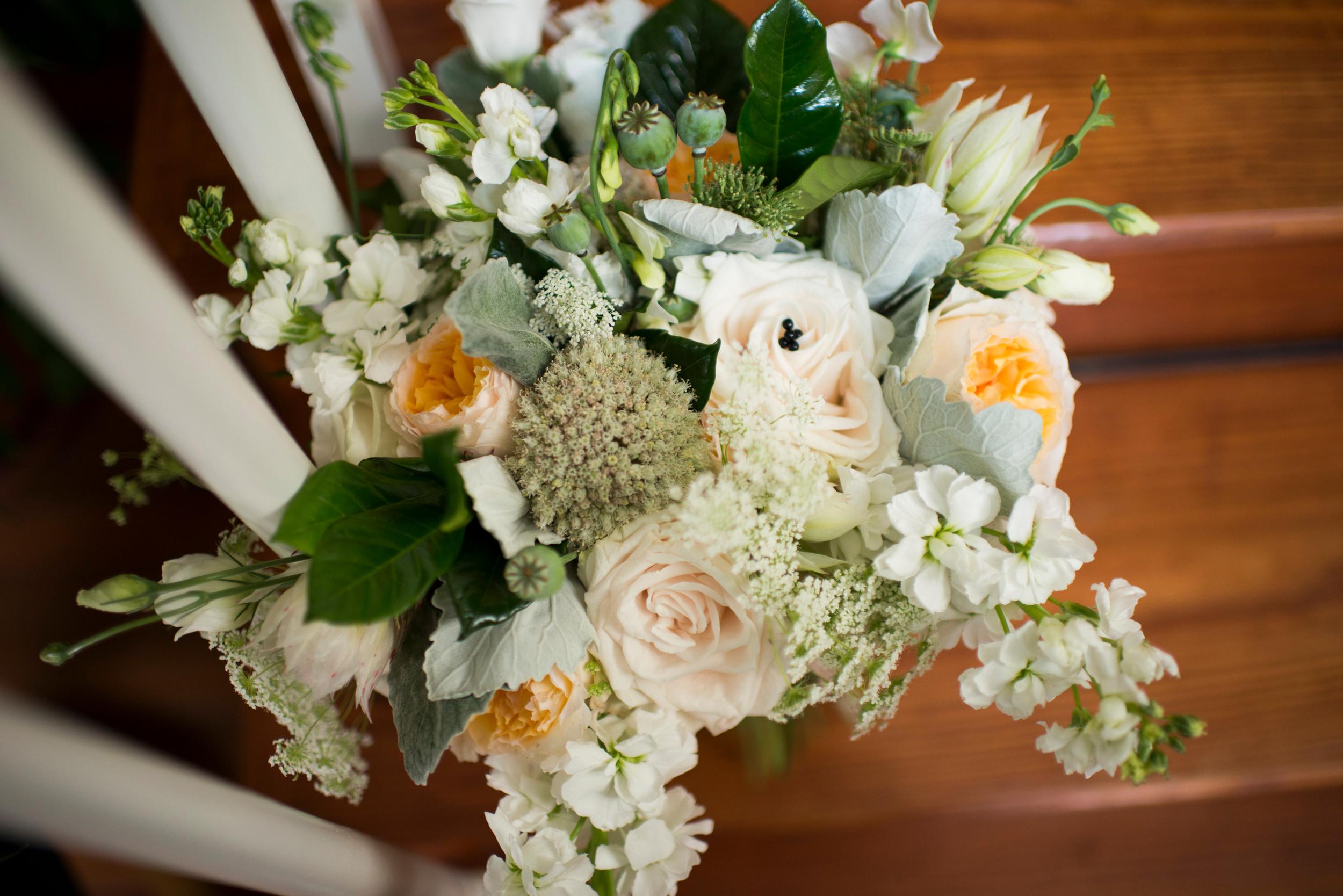 Lovely flowers from  Garden Designs by Kristen !