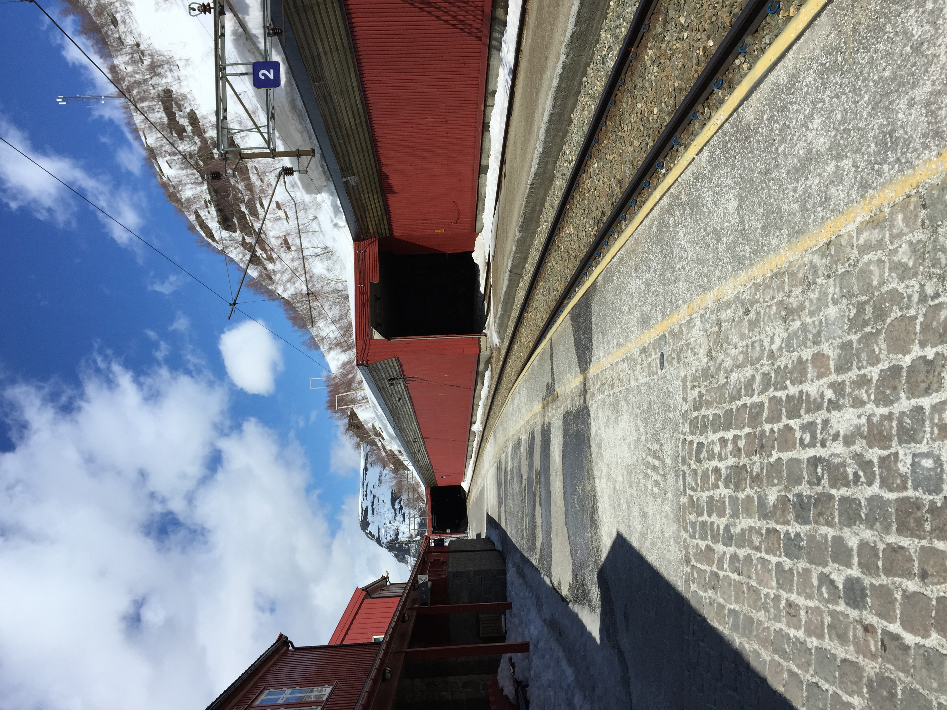 Back in Myrdaal, waiting for the train to Oslo.