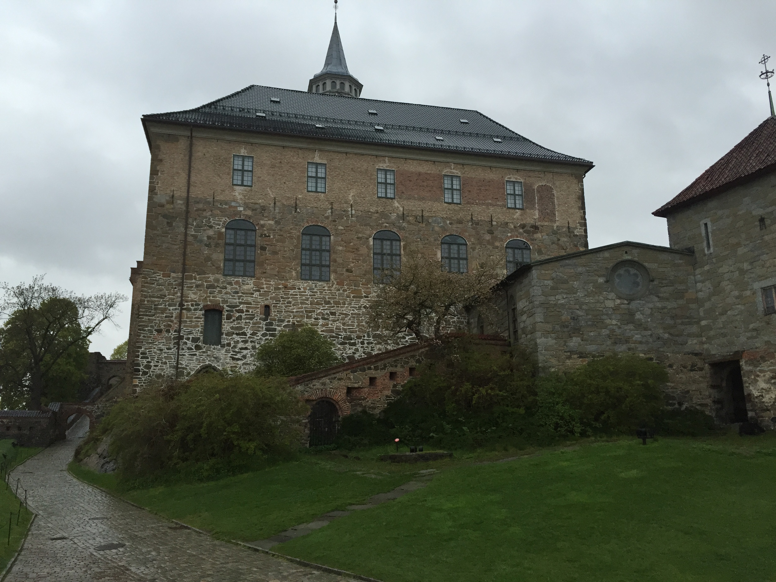 And I finally made it Oslo, where there was an ancient fortress.