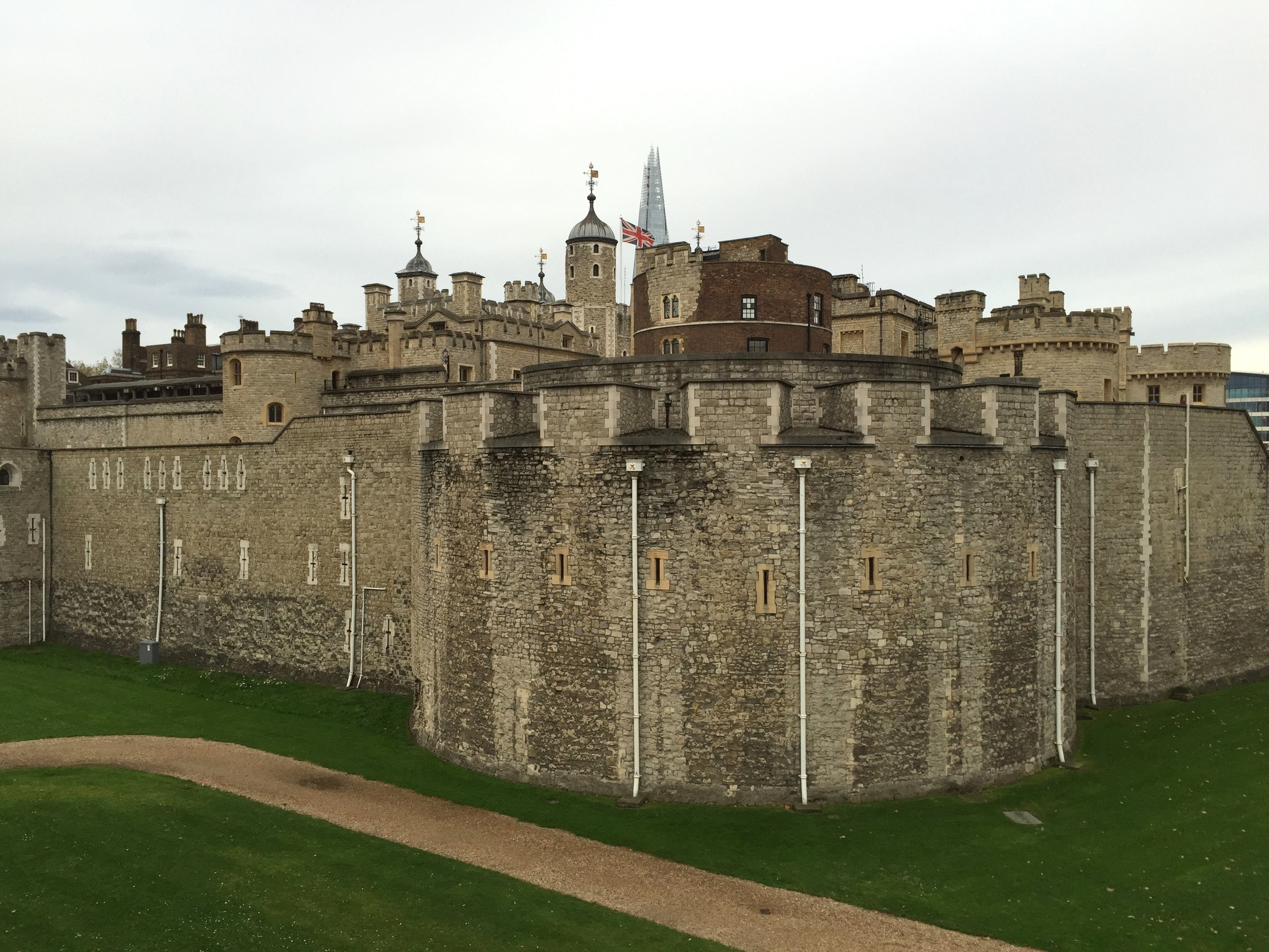 The Tower of London (where I'll spend much more time if I get to go again).
