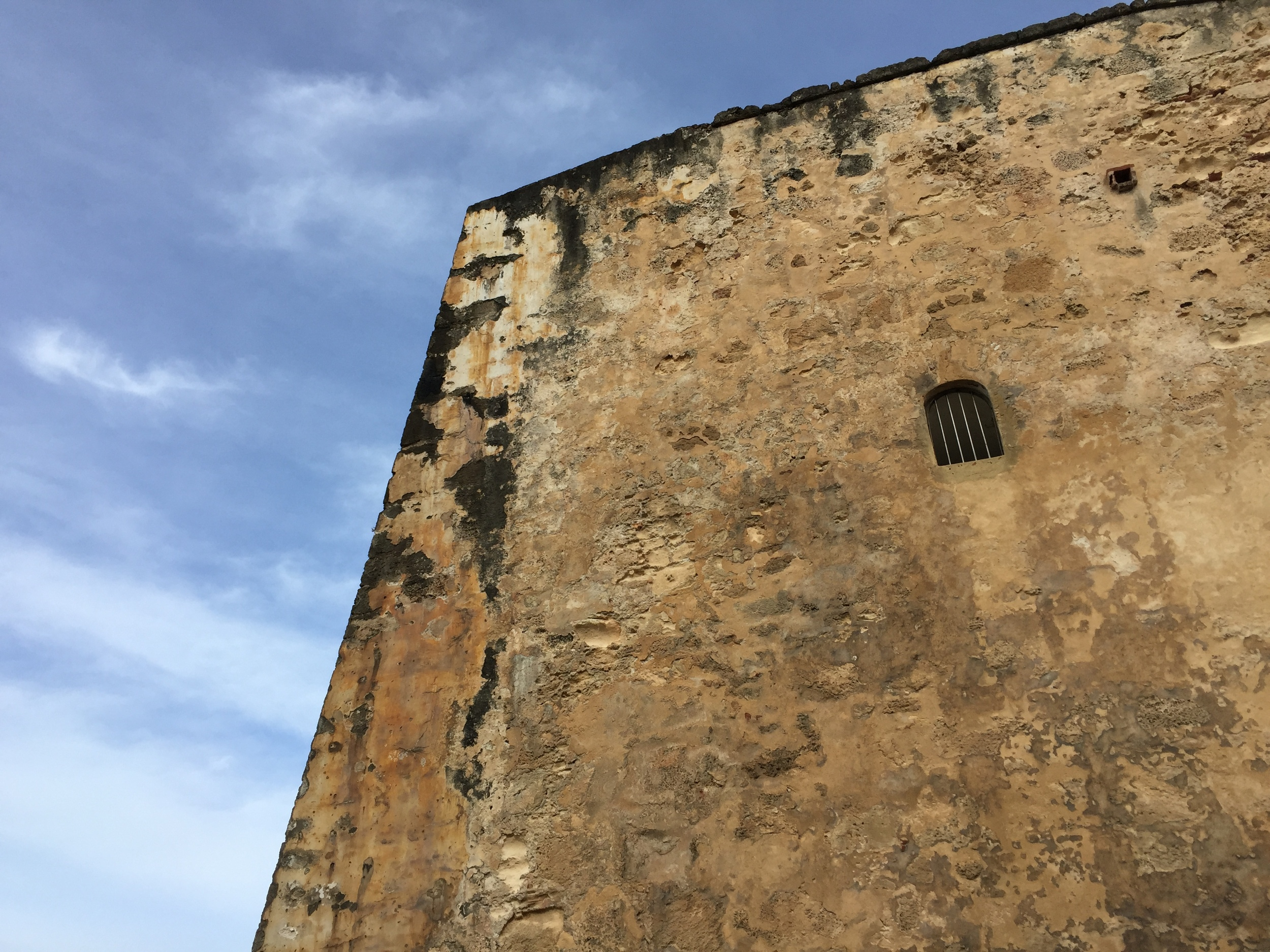 I left the client-site and saw a fort in Puerto Rico during the day time with people around. Safe or not safe? Pop quiz!