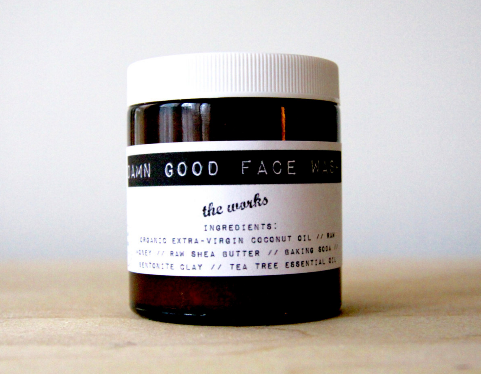 This image is taken directly from Damn Good Face Wash's Etsy store. It's fantastic! Go  buy some !