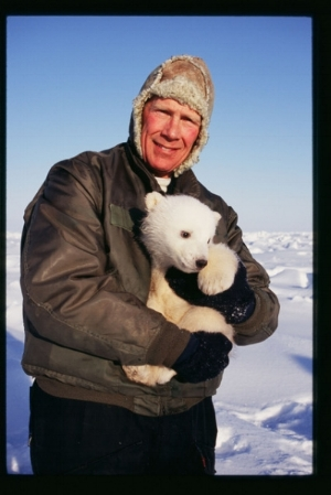 Dr. Steven Amstrup, polar bear researcher and a voice calling for action on climate change. One of the twenty conservationists in WILD LIVES.