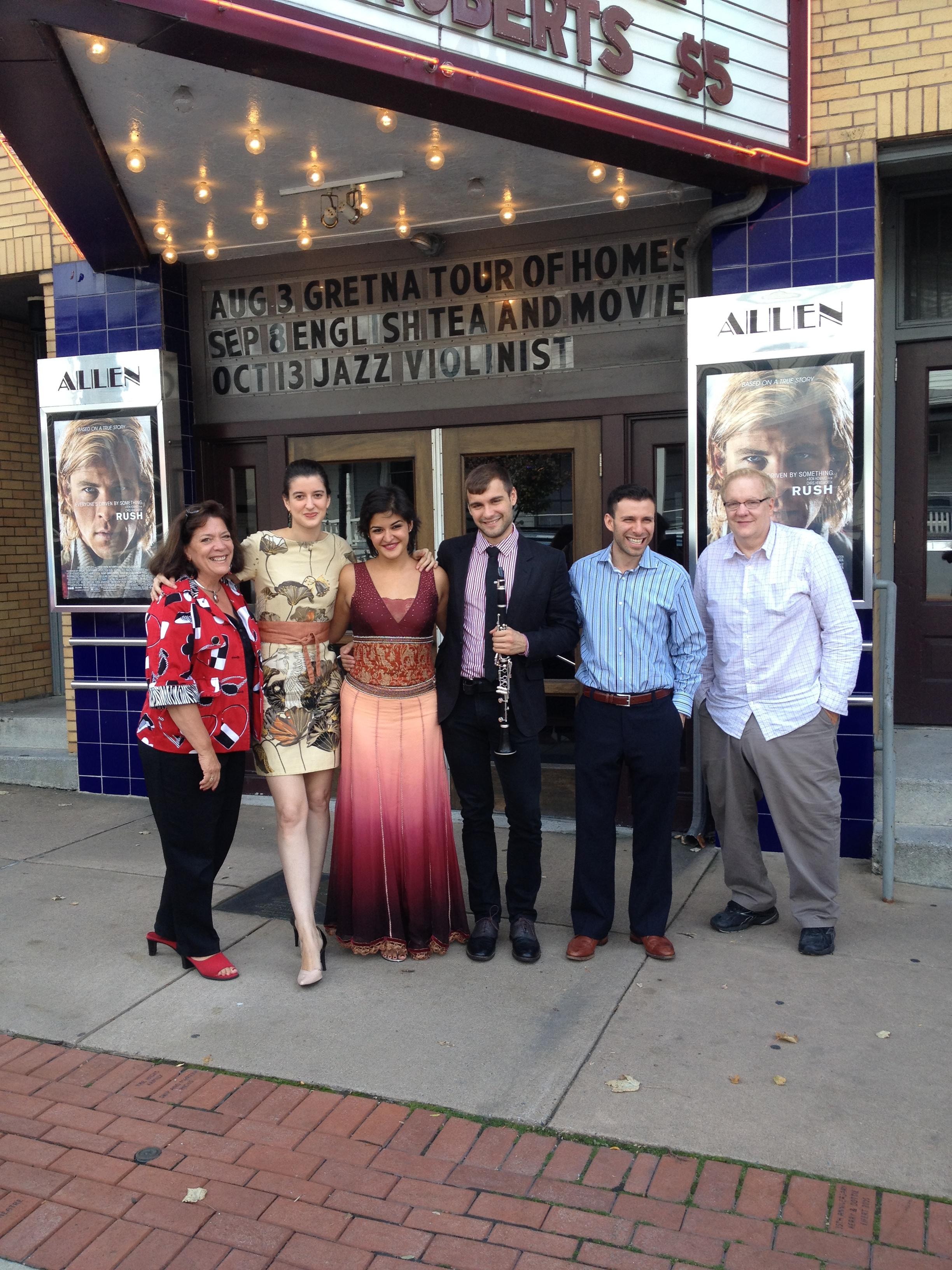 Terrene Unbound at the Allen Theater