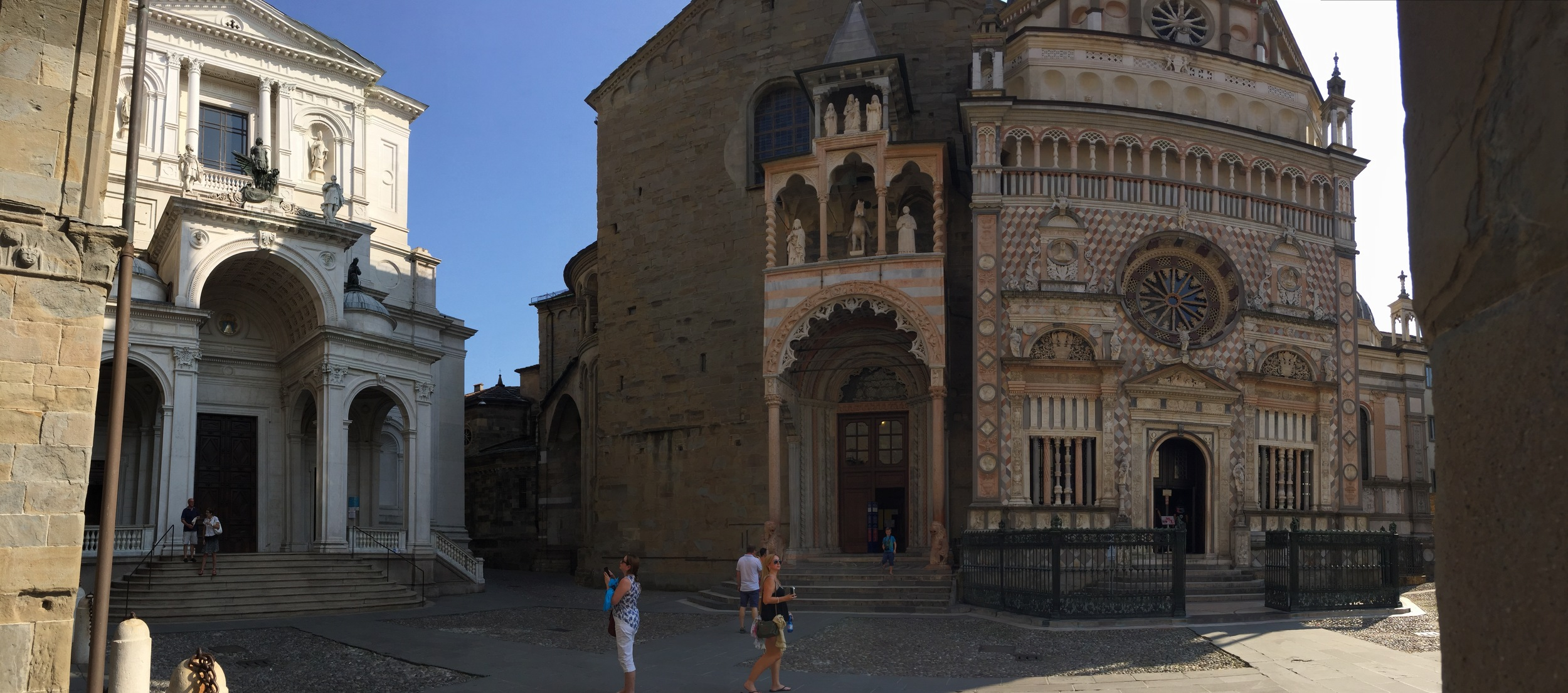 Bergamo, land of elaborate churches