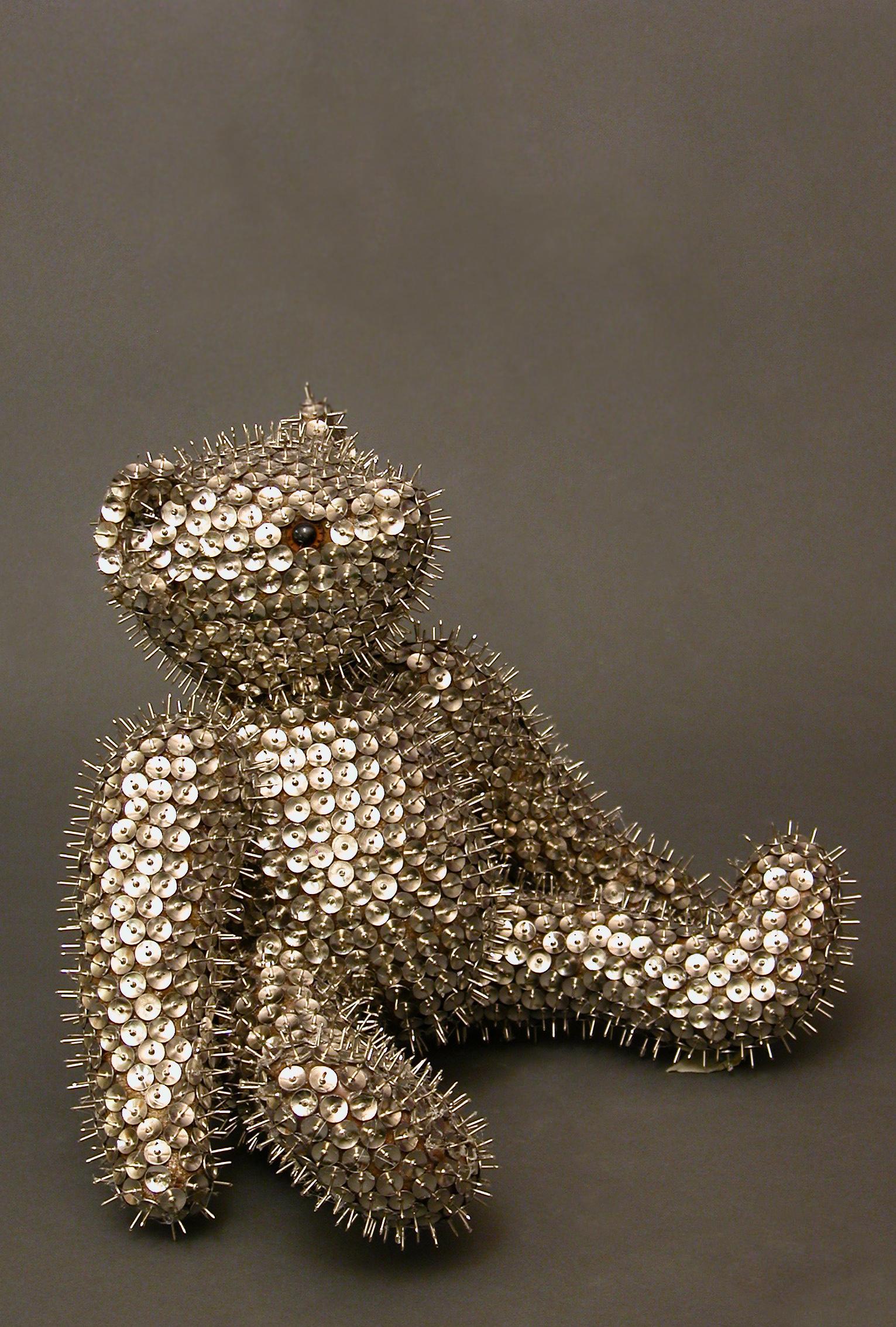 6. Spikey Teddy Bear