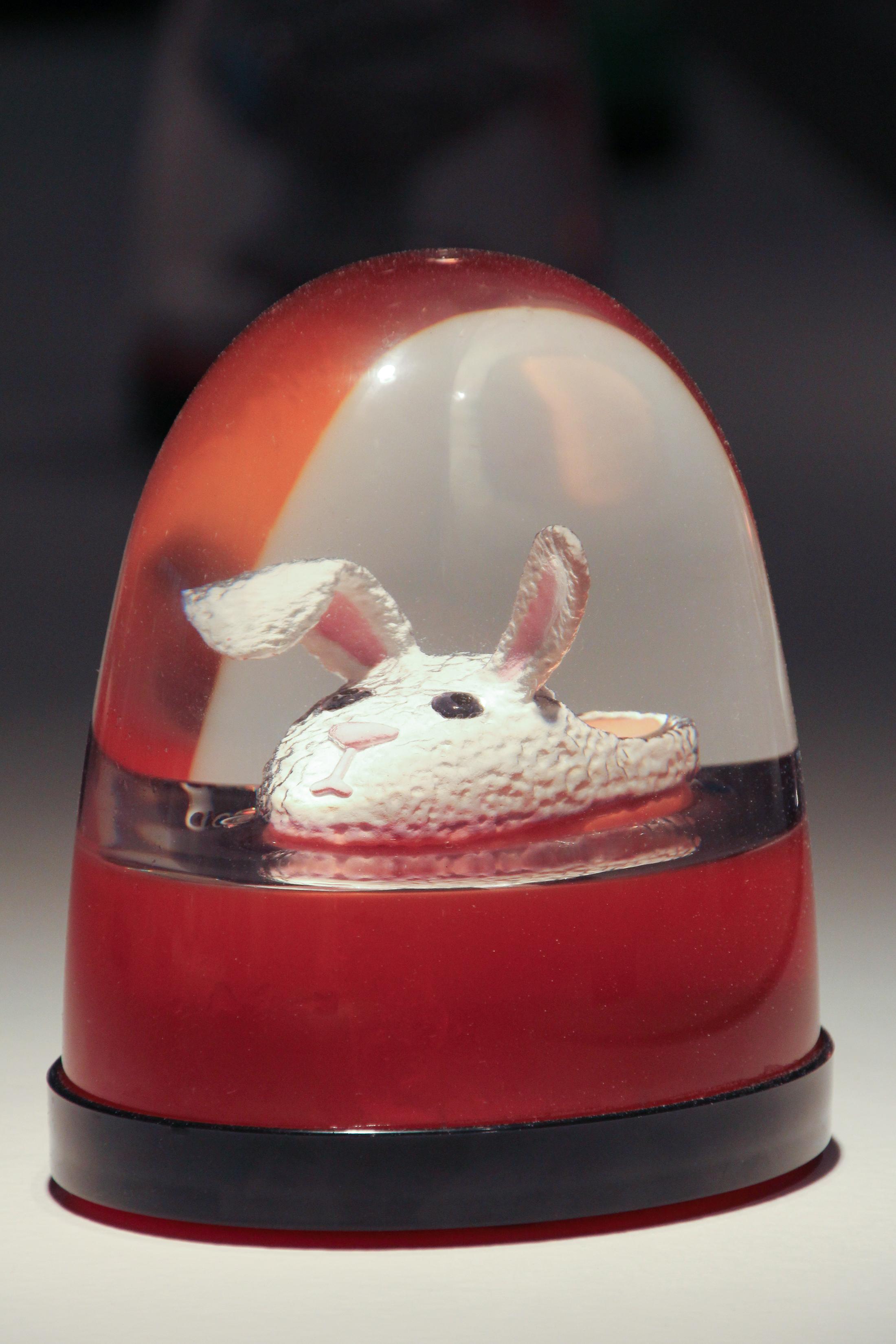 """Bunny Slipper Globe"""