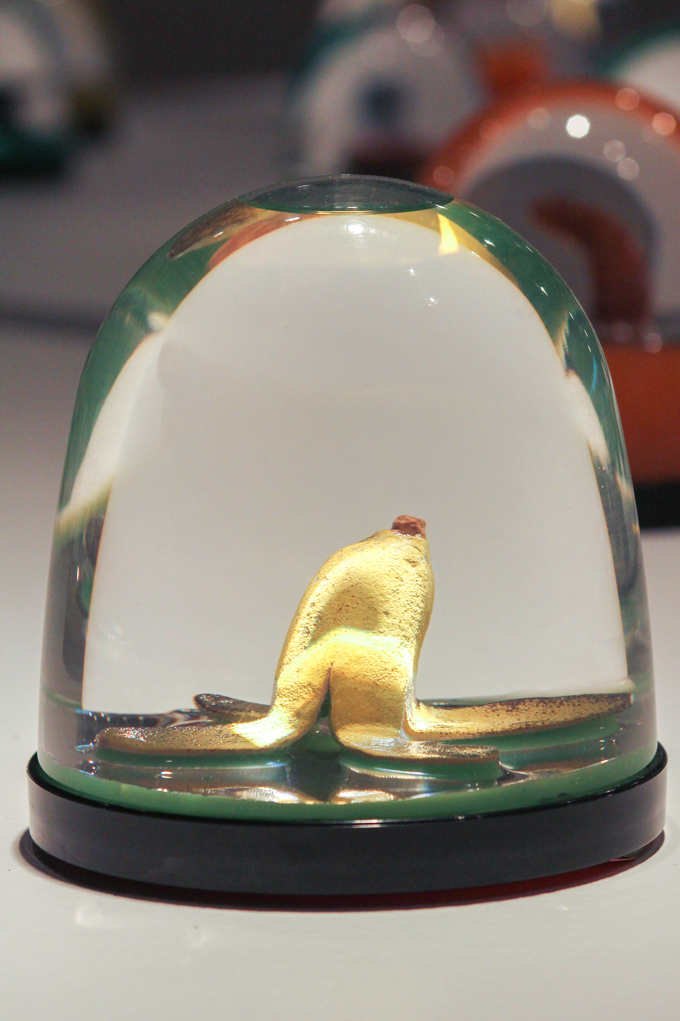 """Banana Peel Globe"""