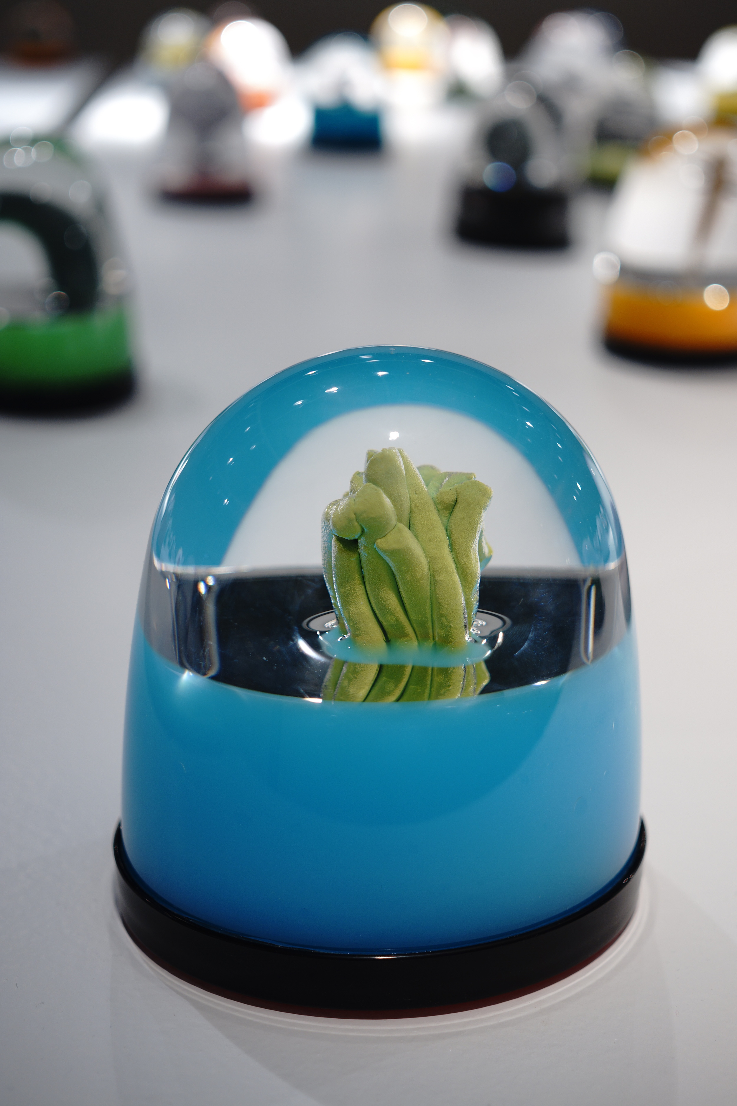 """Green Noodle Globe"""