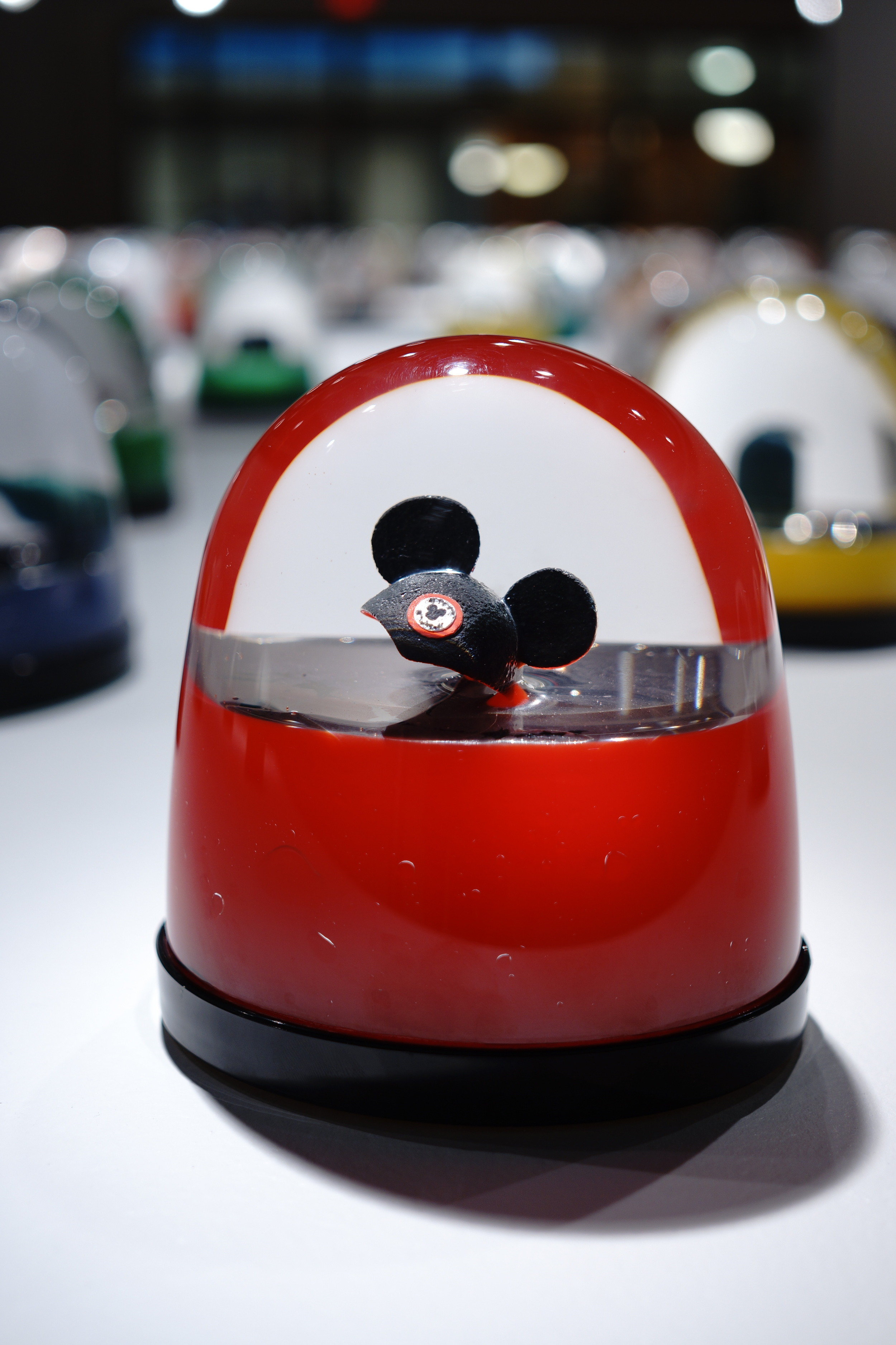 """Mouseketeer Hat Globe"""