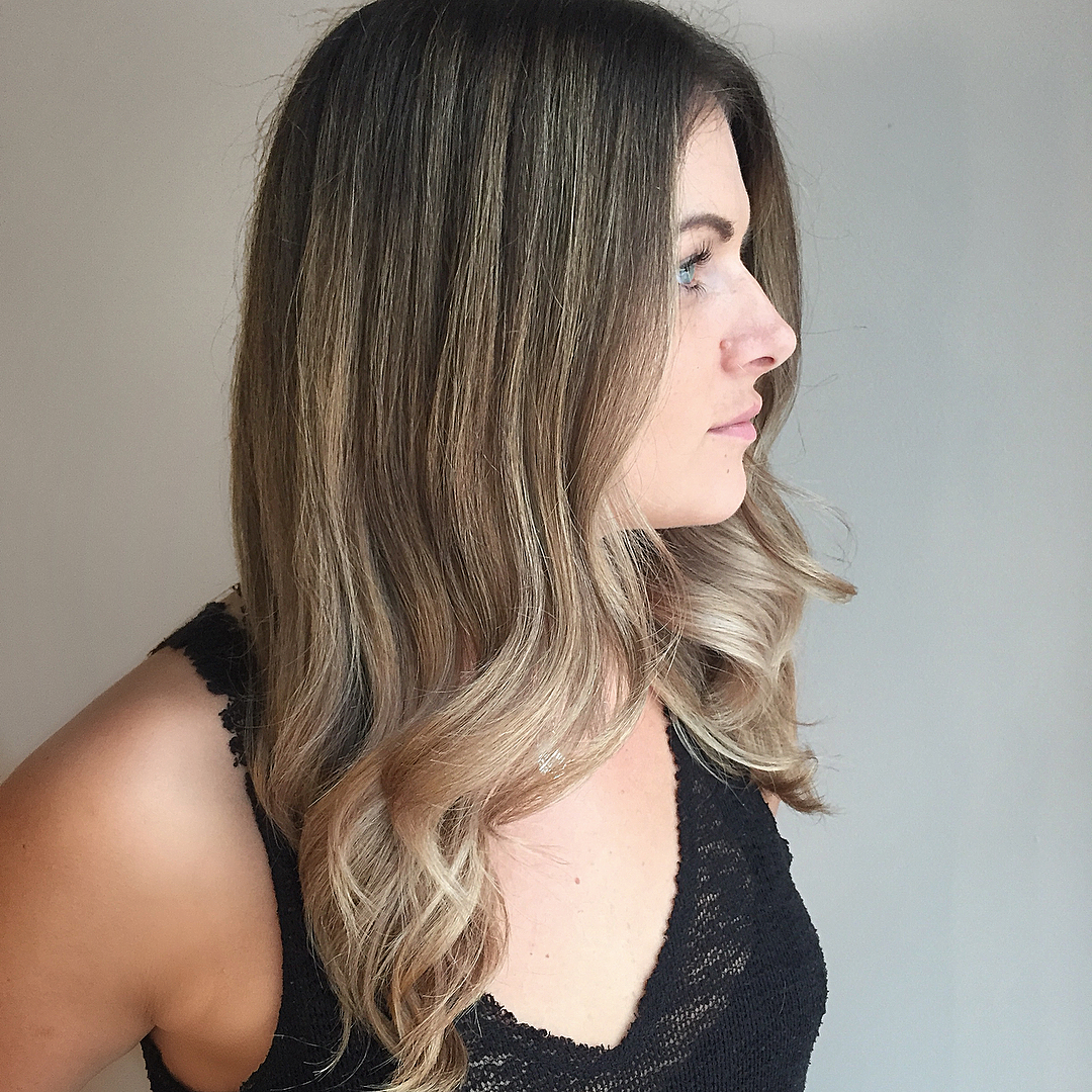 Our Cutting Education Director  Christian Awesome also knocks out some incredible balayage.