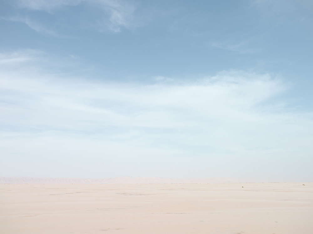 Chotte El Jerid after a Sandstorm, Tunisia