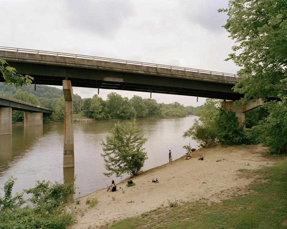 Fishing, Muskingum River, Lowell, OH