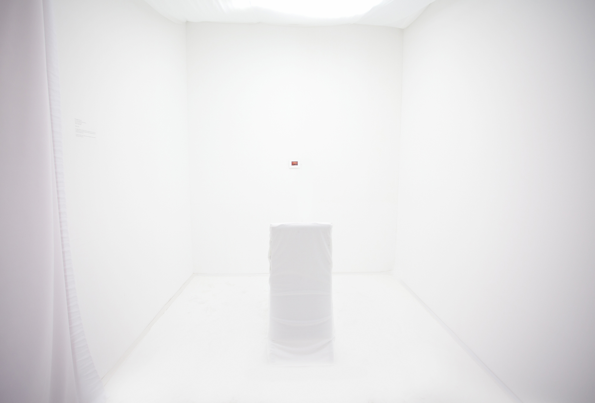 Installation View. Composer in His Room. 2011