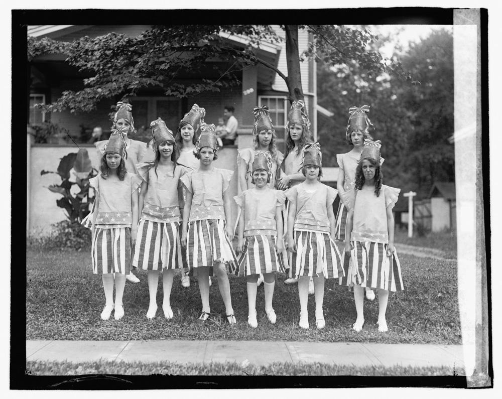 Takoma Park, July 4th Celebration, 1922