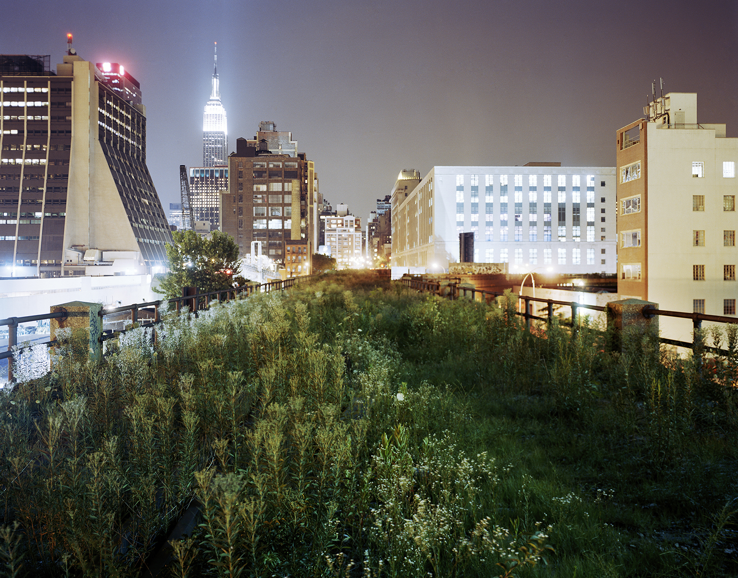 The Highline: Above 34th Street Eastward, 2004 ©Jesse Chehak