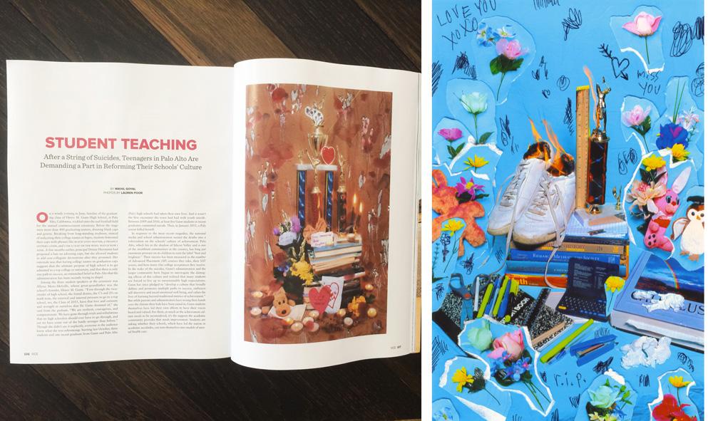 Lauren Poor's photographs in VICE's September issue