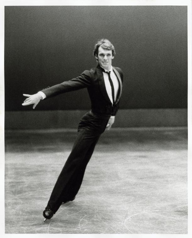 John Curry in Ice Dancin  g. Photographer: Kenn Duncan