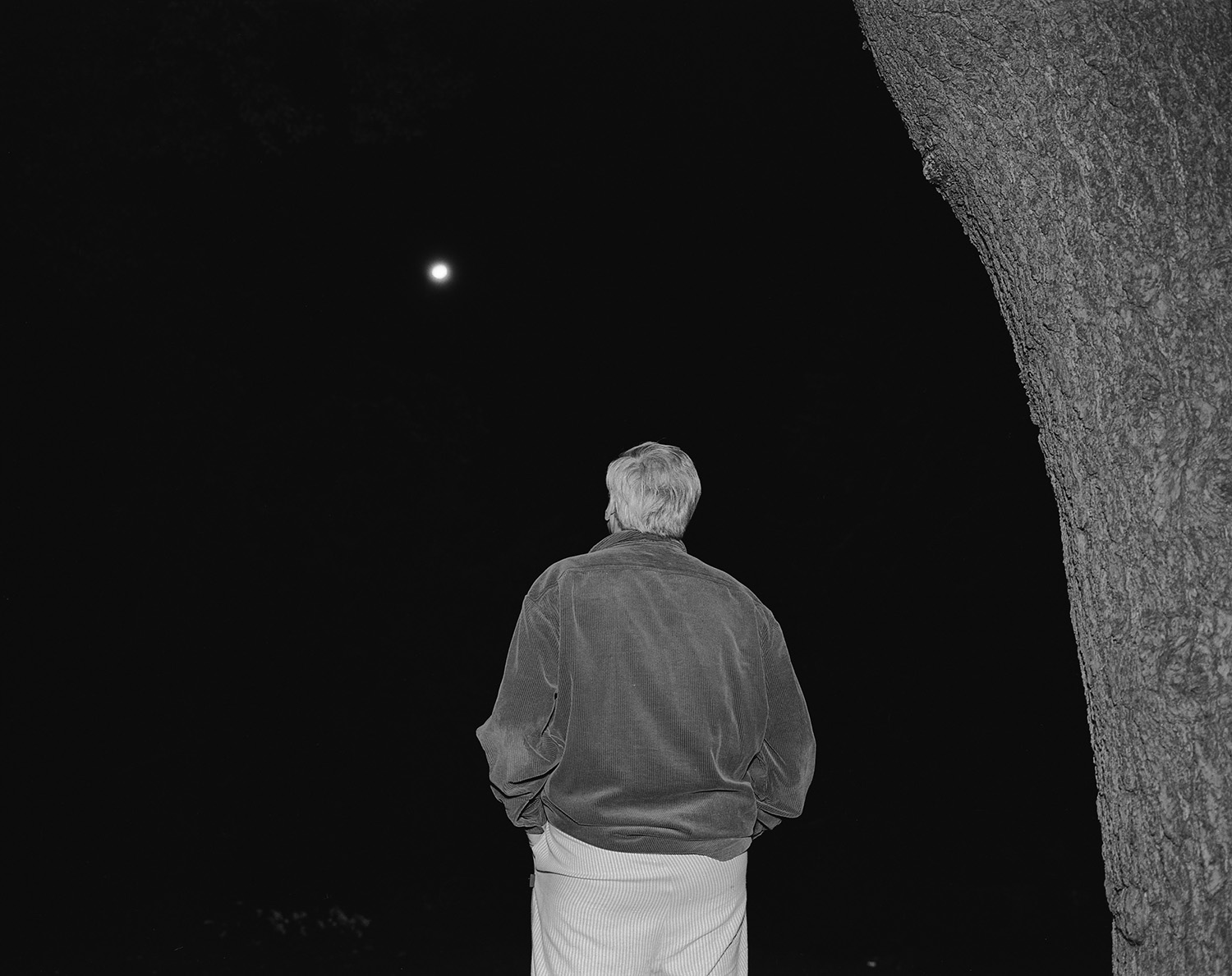 Dad and Moon, 2008. ©  Rory Mulligan