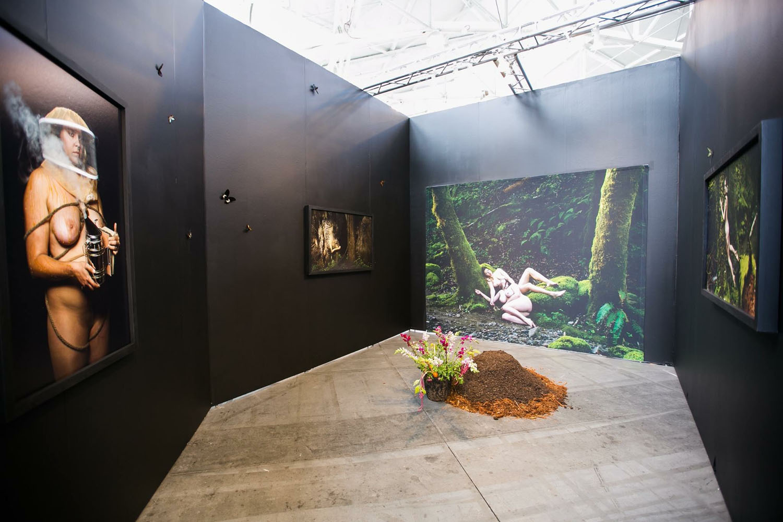 Charlie Watts installation view