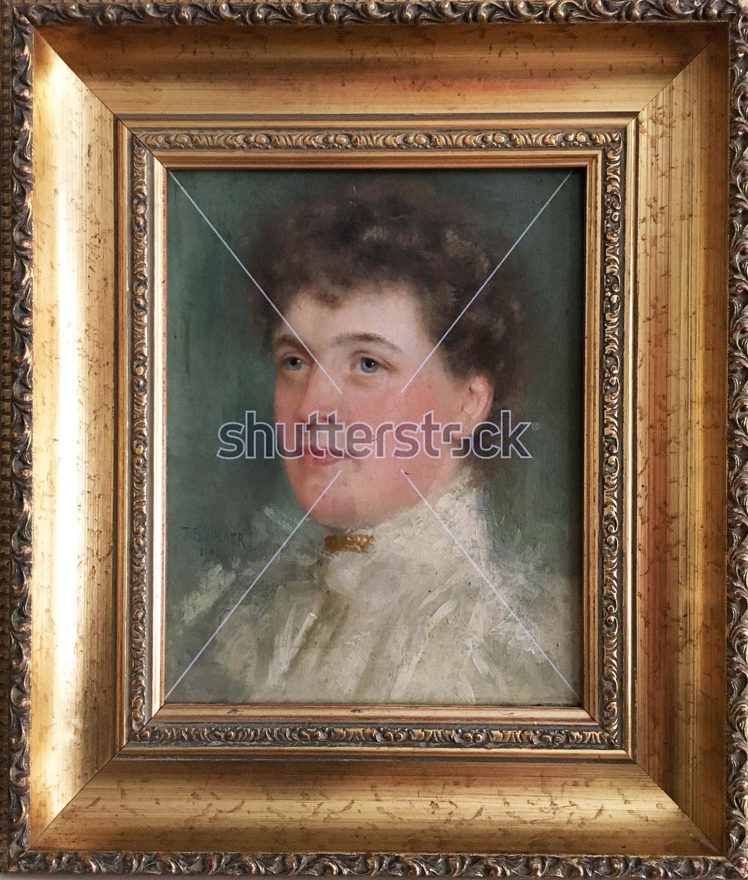 Watermarked Painting #436544659 (Shutterstock meta), 2016 © Paul Stephenson. Originally painted by Thomas Bond Walker, 1901 (Oil on Canvas)