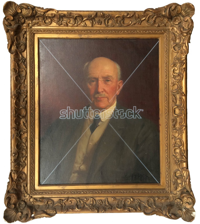 Watermarked Painting #441570286 (Shutterstock meta) © Paul Stephenson.Originally painted by George Percy Jackomb Hood, 19