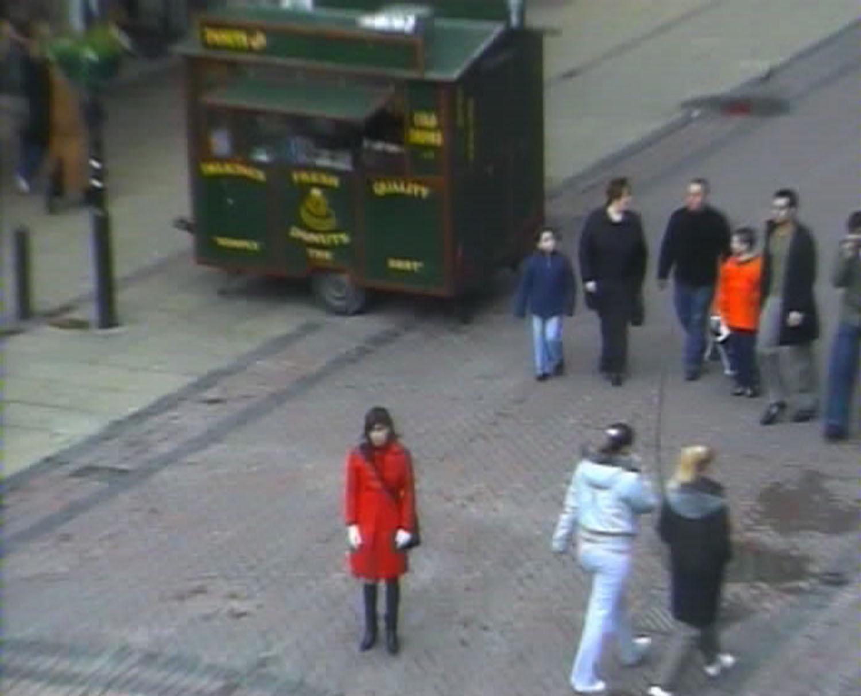 Trust  (video still), from Evidence Locker, 2004. © Jill Magid