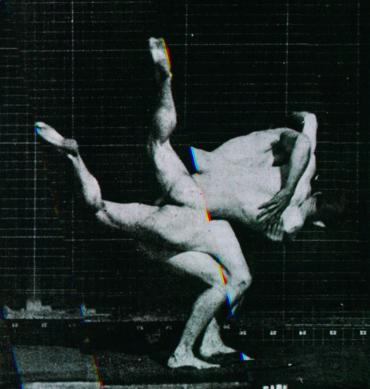 Muybridge Motion Study Motion Study  #12 ©William Miller,