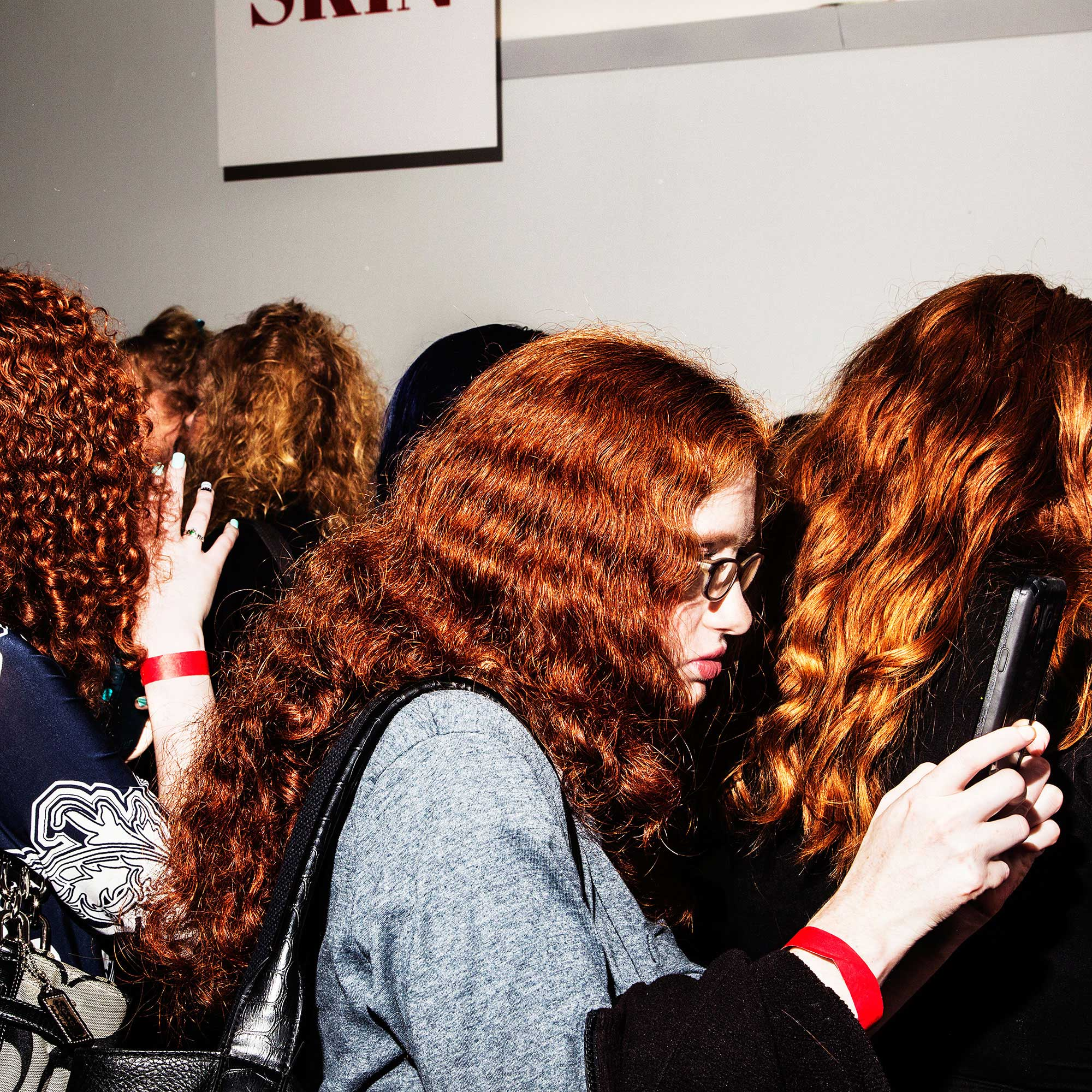 Rock It Like a Redhead. New York, NY 2015. © Amy Lombard