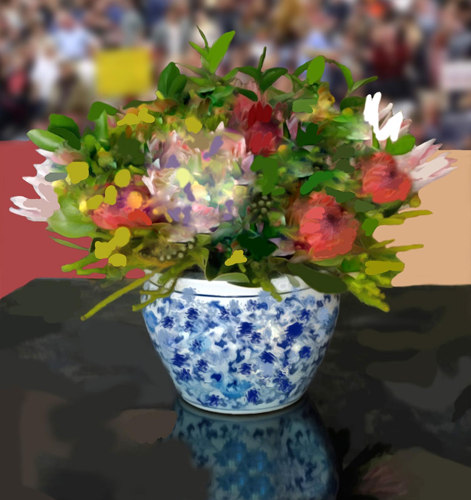 Study After Flowers for Algernon II  © Gregory Eddi Jones