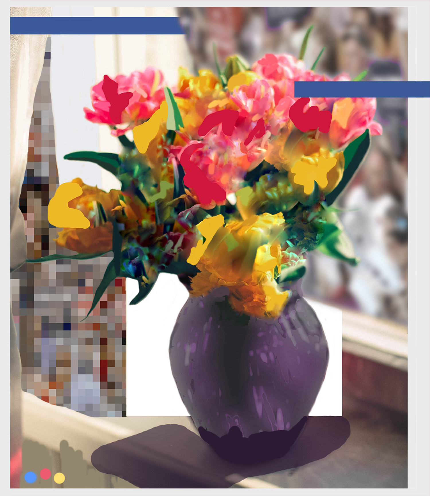 Study After Flowers for Algernon VI (For Facebook) © Gregory Eddi Jones