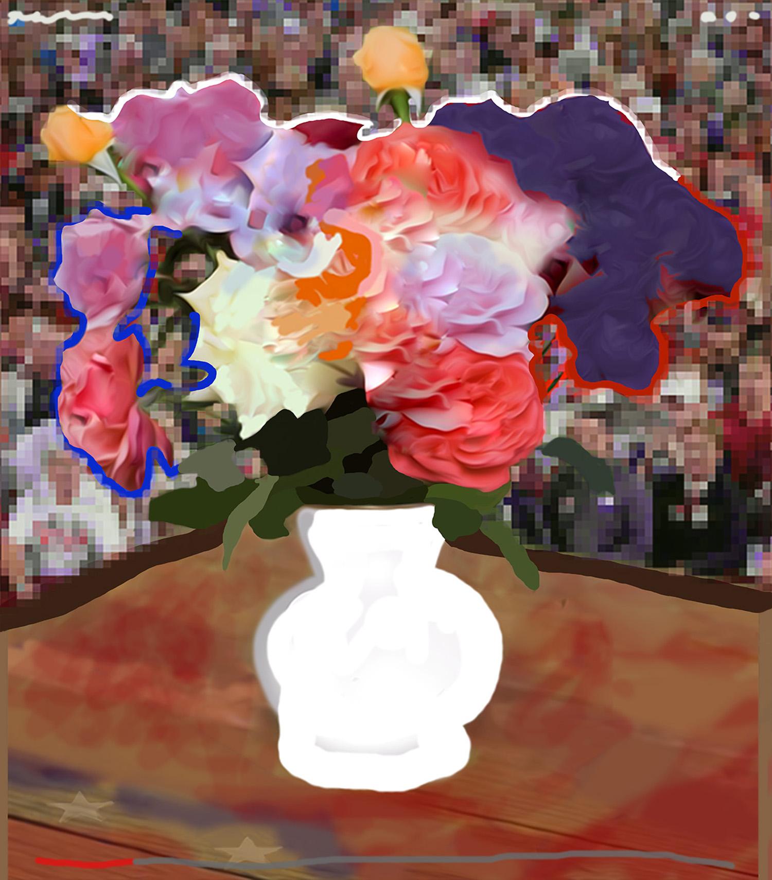 Study After Flowers for Algernon III  © Gregory Eddi Jones