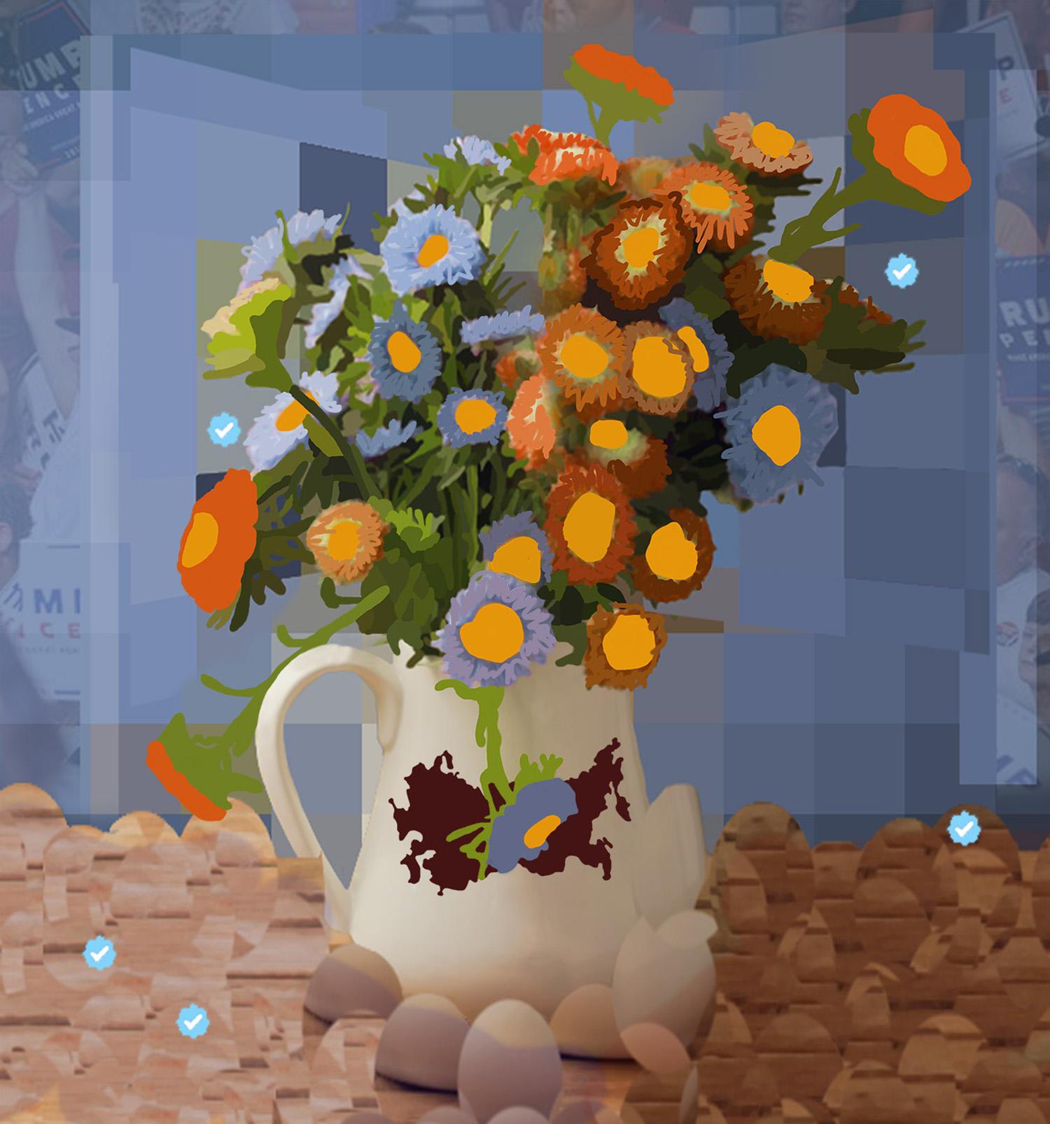 Study for After Flowers for Algernon VII  © Gregory Eddi Jones