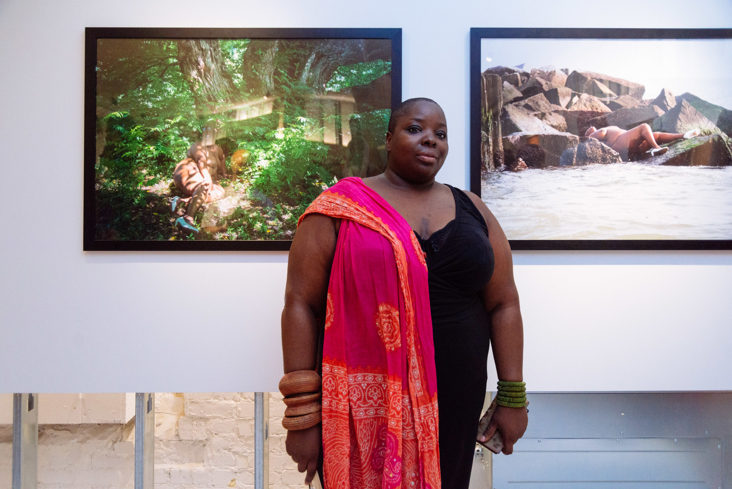 Photo of Nona Faustine by Charlie Rubin