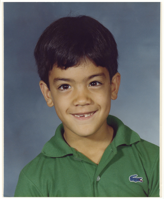 School portrait of Kevin Kunishi