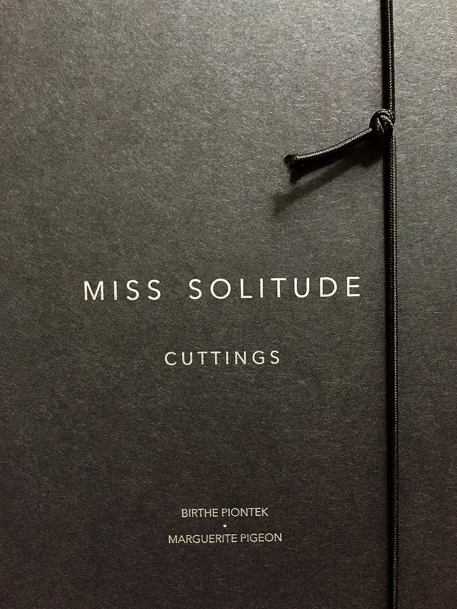 Miss Solitude / Cuttings