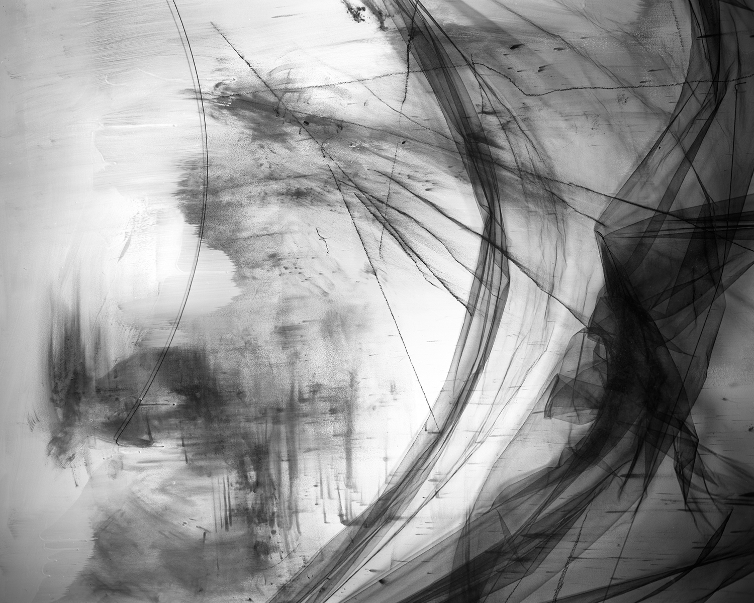 """Wind Blurred, 2017. From the series """"Pitch."""" © Lauren Semivan"""