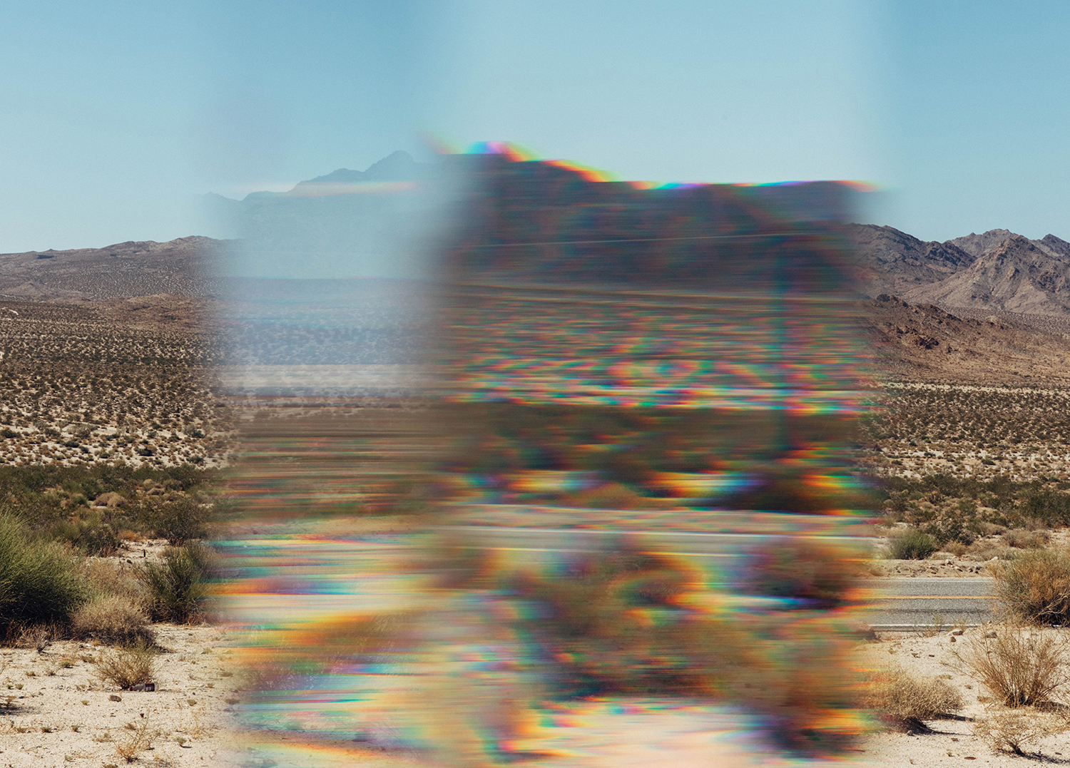 """""""Wrong Place, Right Time.,"""" Archival Metallic Inkjet Print, 19.75"""" x 27.5"""", 2017 © Mikayla Whitmore"""