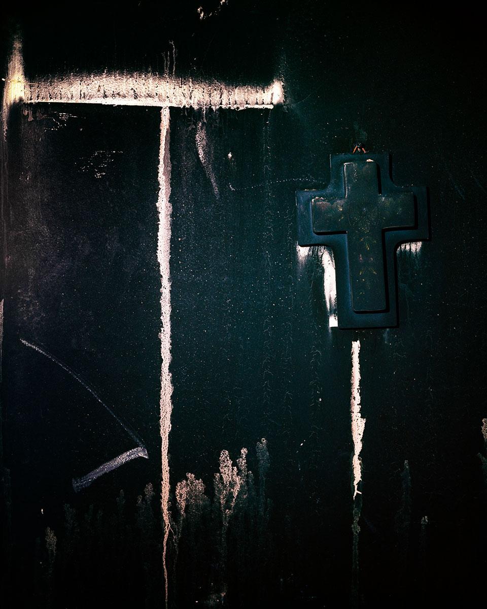 Burned Cross. © Shane Rocheleau