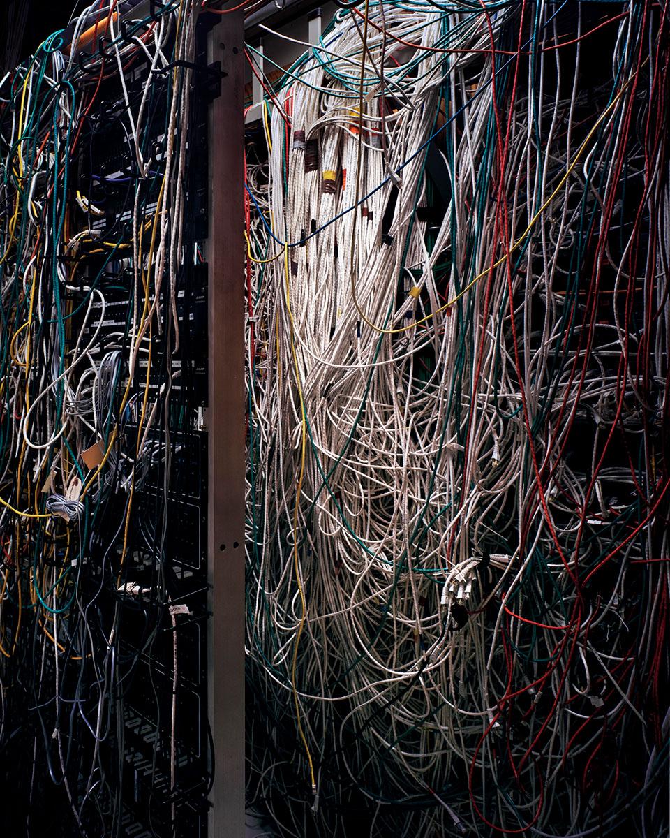 Server Wires. © Shane Rocheleau