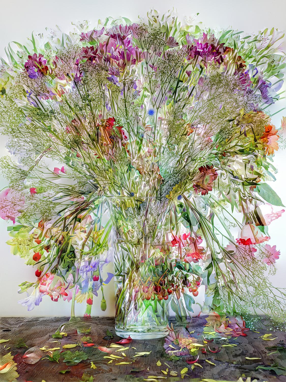 Flowers for Lisa #1, 2014. ©Abelardo Morell