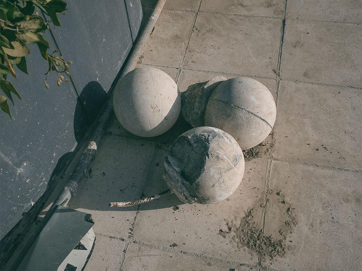 Balls. © Anargyros Drolapas