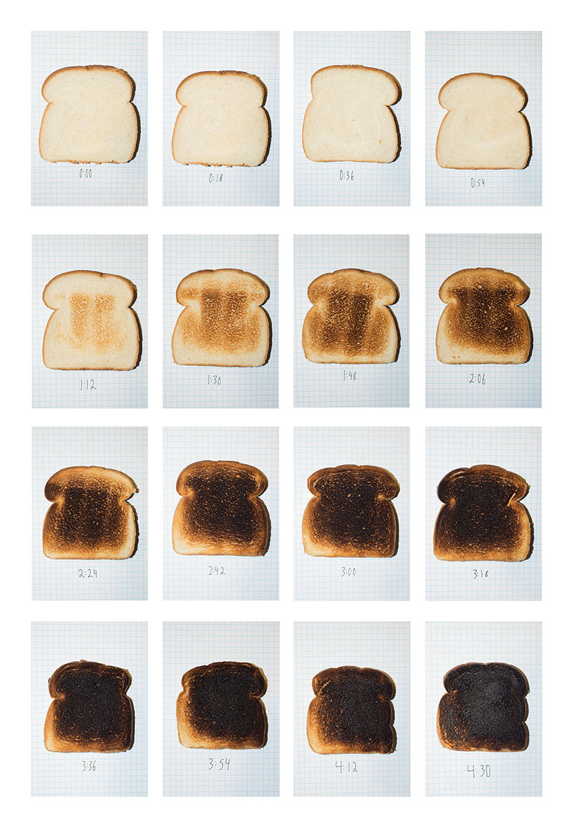 Various Stages of Toast. © Diego Rodriguez